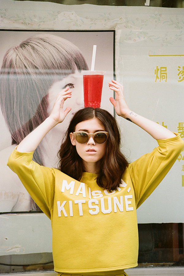 Maison-Kitsune-Spring-Summer-2014-New-Wave-Lookbook-featuring-Sky-Ferreira-folkr-21