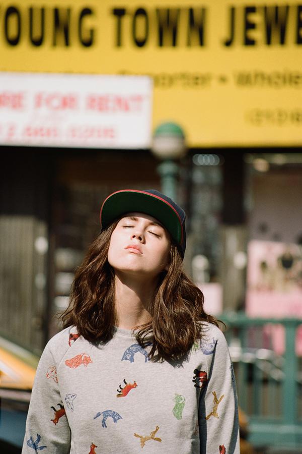 Maison-Kitsune-Spring-Summer-2014-New-Wave-Lookbook-featuring-Sky-Ferreira-folkr-27