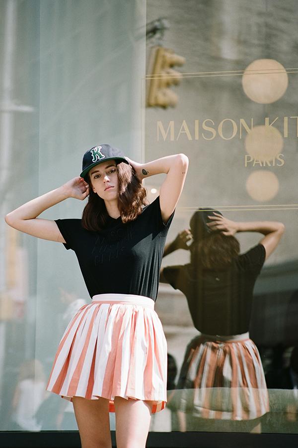 Maison-Kitsune-Spring-Summer-2014-New-Wave-Lookbook-featuring-Sky-Ferreira-folkr-3