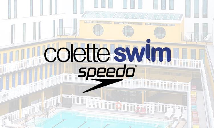 Le colette swim x speedo la piscine molitor for Adresse piscine molitor