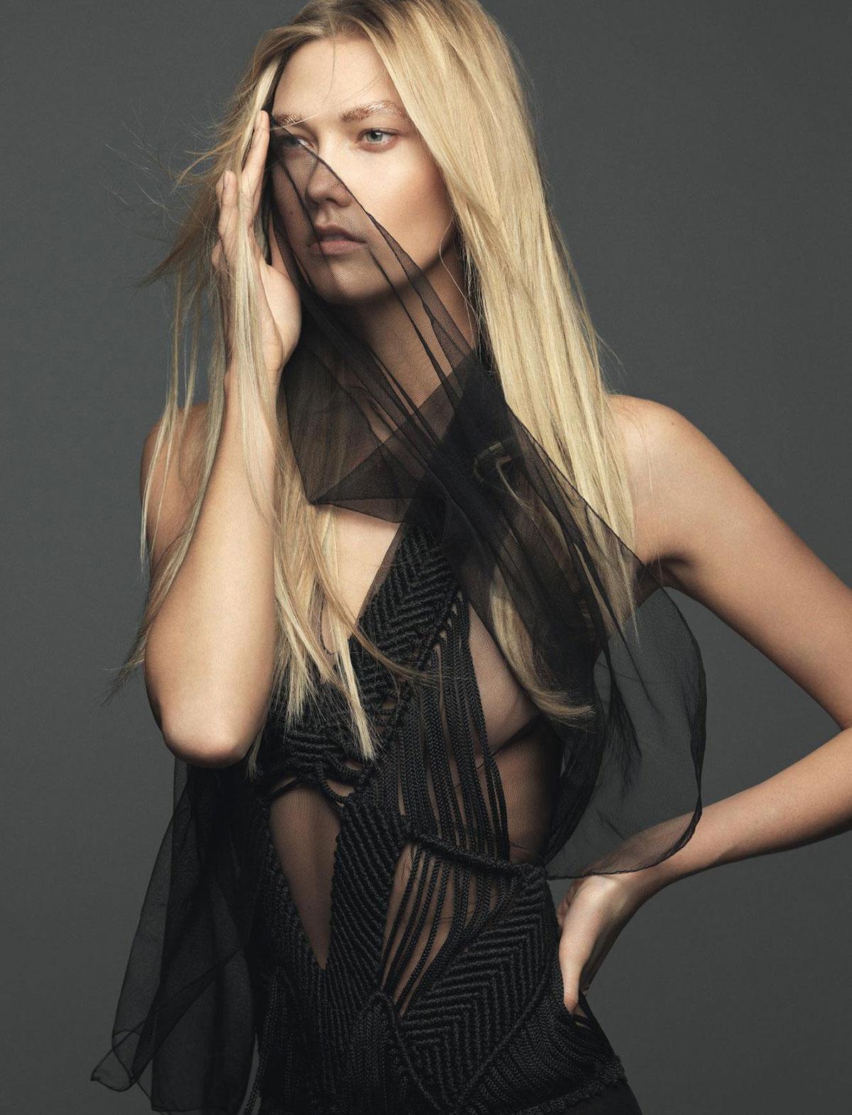 KARLIE KLOSS in Elle Magazine