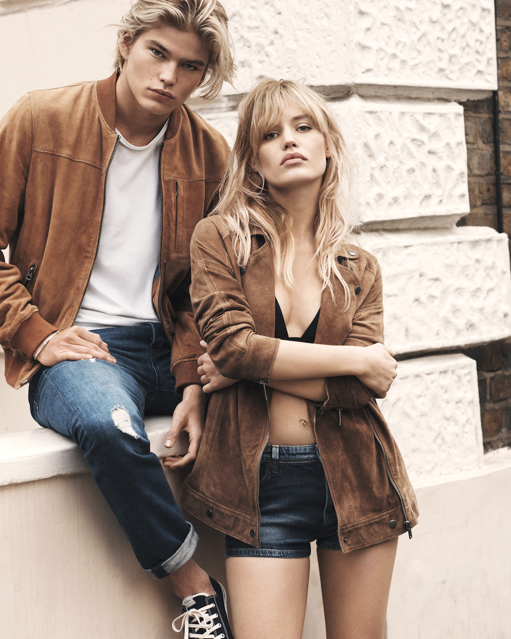 pepe-jeans-new-campain-ss-2017-walk-this-way-Georgia -May-Jagger-Jordan-Barrett-folkr-01