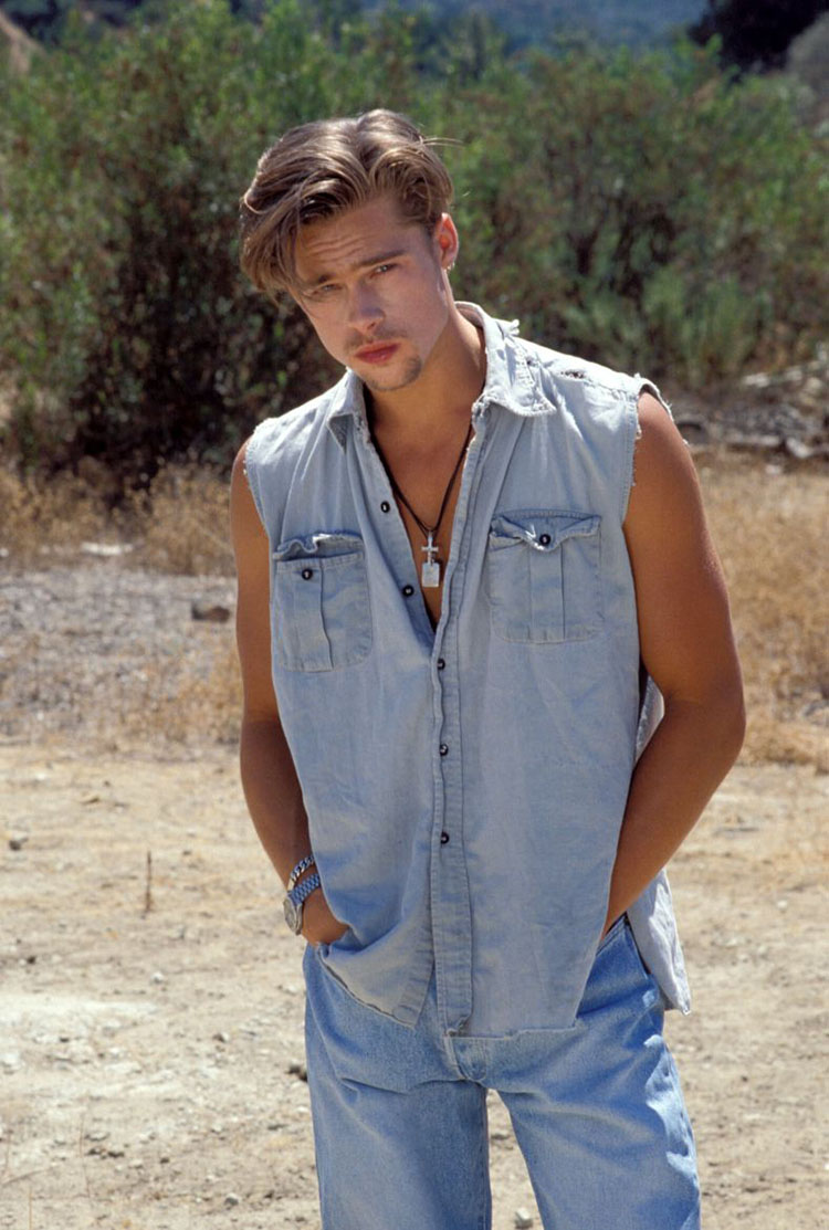 Brad Pitt  Photo Shoot Los Angeles 8/11/89 ©Barry King/JPI  310-657-9661