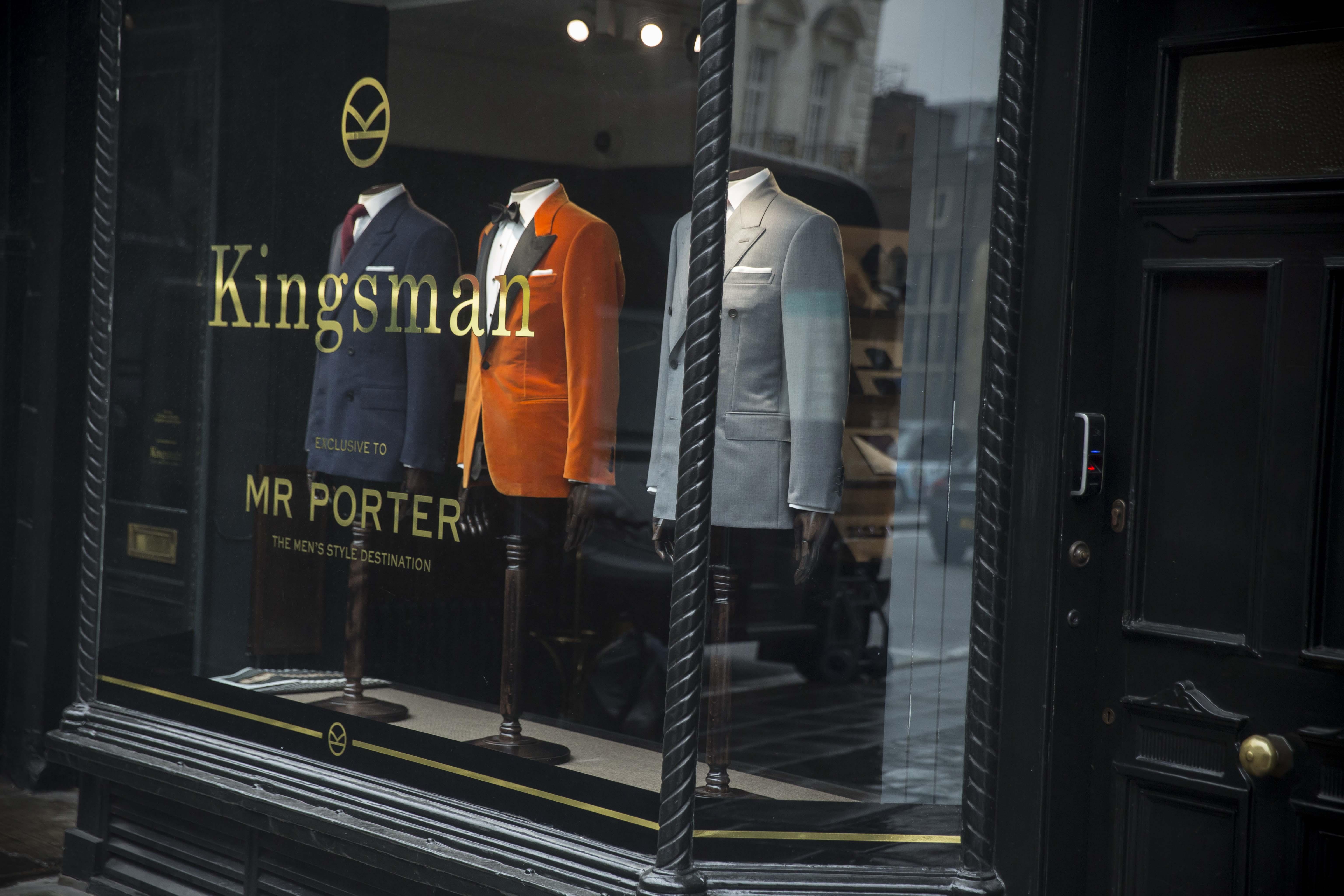 Mr Porter rhabille Kingsman